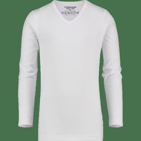 T-shirt Basic V-neck Long