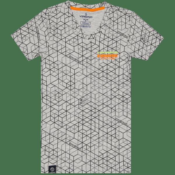 Schlafanzughemd Hexagon Vneck