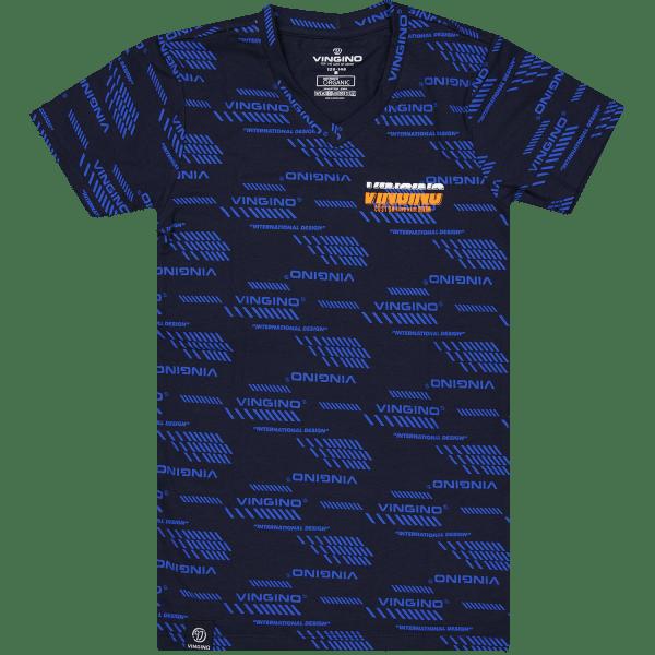 Schlafanzughemd Logo Vneck